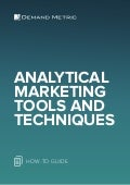 Analytical Marketing Tools & Techniques