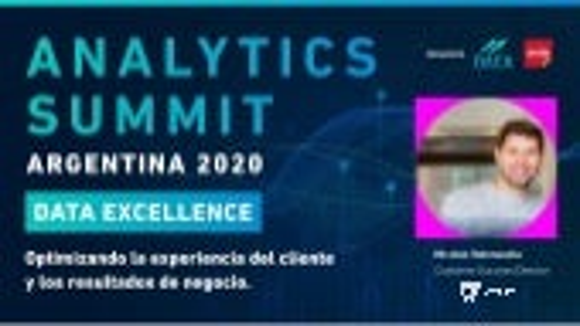Analytics Summit Argentina 2020