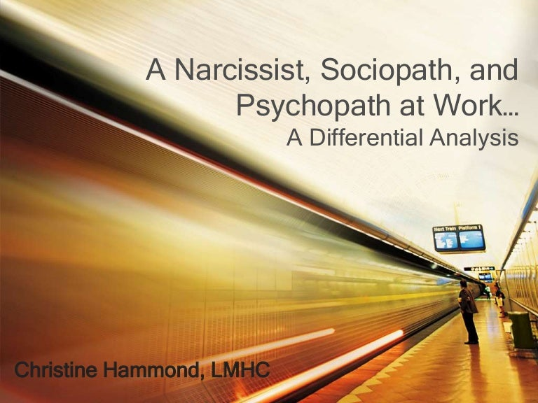 how to handle a psychopath at work