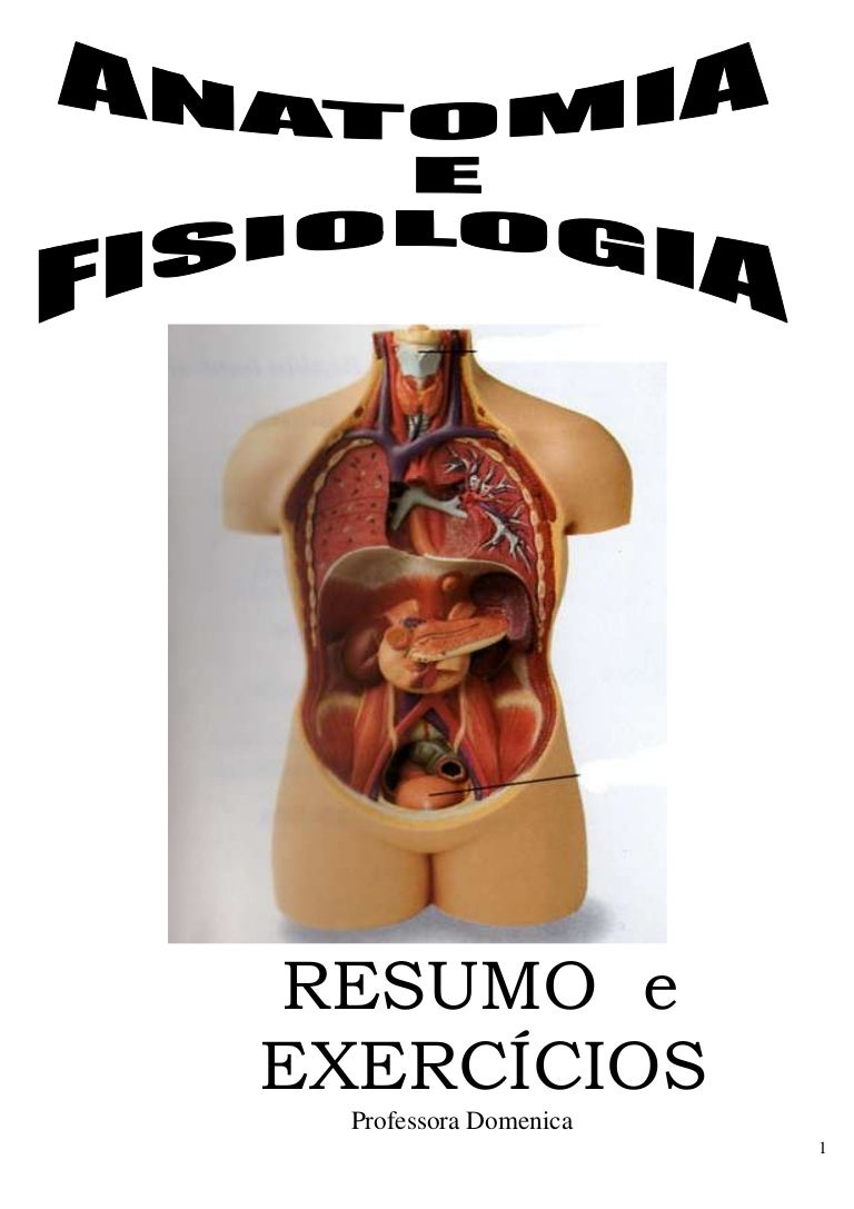 Anatomia e fisiologia - apostila