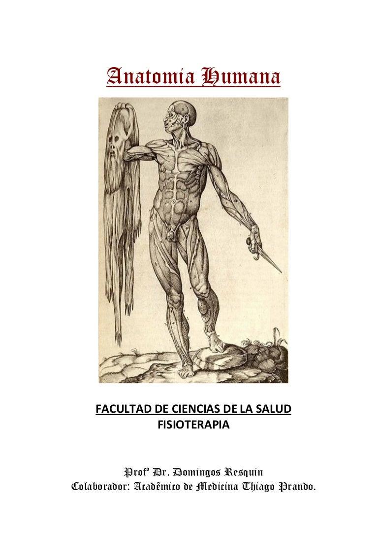 Anatomia Humana Resquin Y Prando