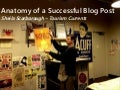 Anatomy of a Successful Blog Post