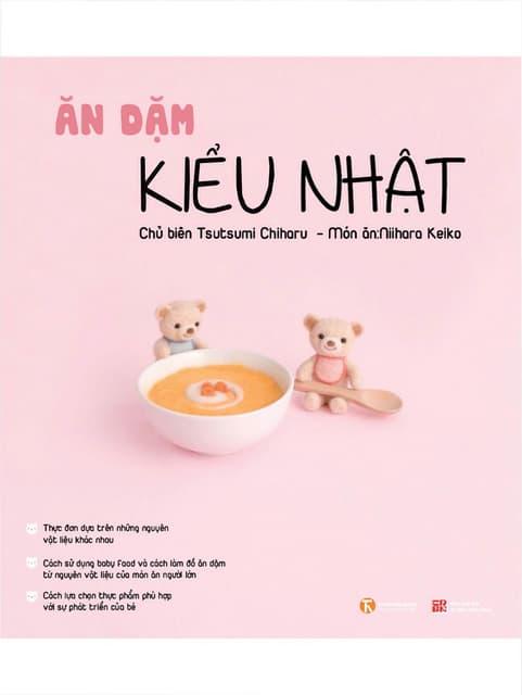 Sách Ăn Dặm Kiểu Nhật - Tsutsumi Chiharu