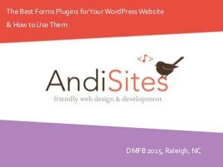 AndiSites: Best WordPress Forms Plugins (Online Version)