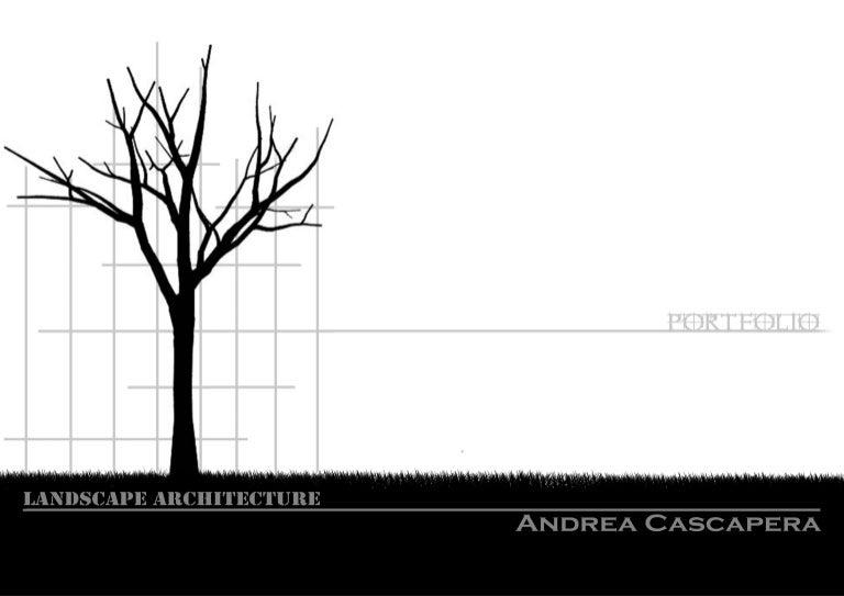 portfolio landscape architecture