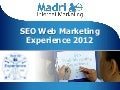 Andrea Scarpetta: Seo Web Marketing Experience 2012