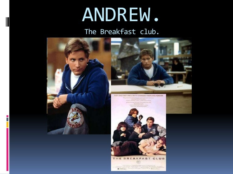 analysis of breakfast club essay The breakfast club film contained a wide variety of behavior and stereotypes each person had there on personality and taste at the beginning of the film i believe that communication played the biggest part in the movie it shows the way that people from totally different backgrounds can communicate.