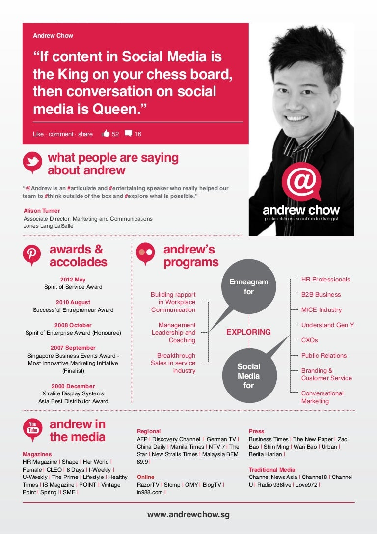 Andrew chow speaker one sheet cheaphphosting Images