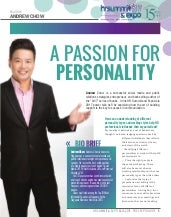 HR Summit 2017 Guide - A Passion for Personality