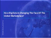 How Big Data Is Changing The Face Of The Global Marketplace?