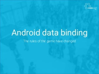 Android data binding