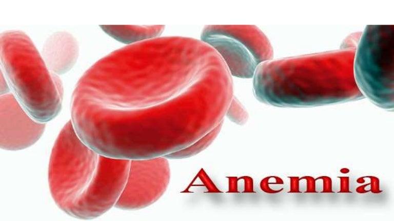 anemia y erección