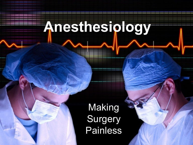 Anesthesiologist Power Point