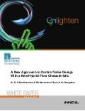 HCLT Whitepaper: A New Approach in Control Valve Design with a New Hybrid Flow Characteristic