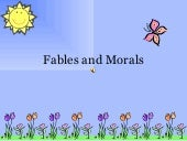 Fables and Morals presentation