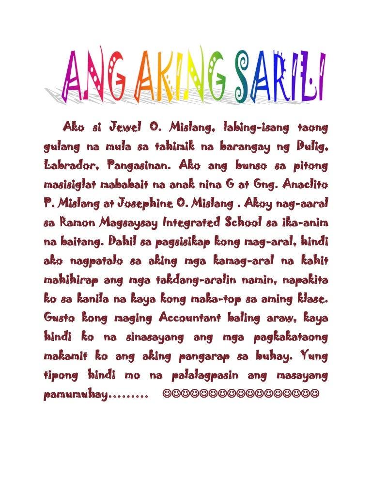 ang aking talambuhay - philippin news collections