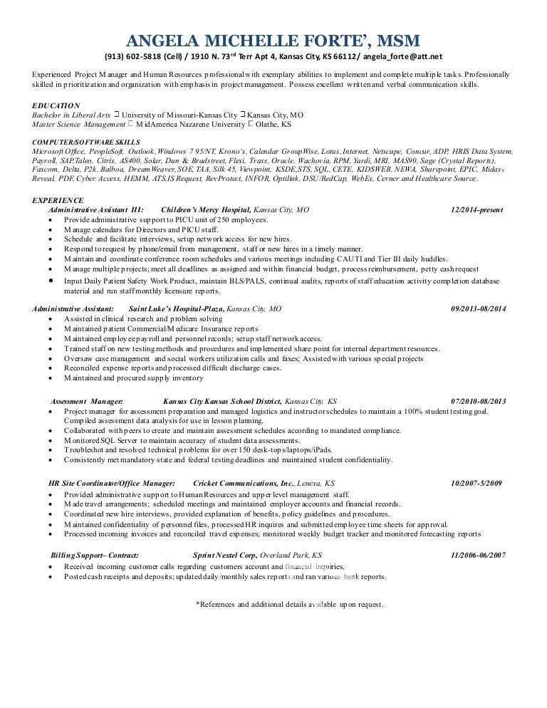 sharepoint resume