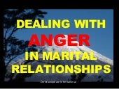 ANGER MANAGEMENT IN MARITAL RELATIONSHIPS