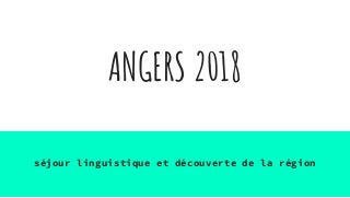 Angers 2018