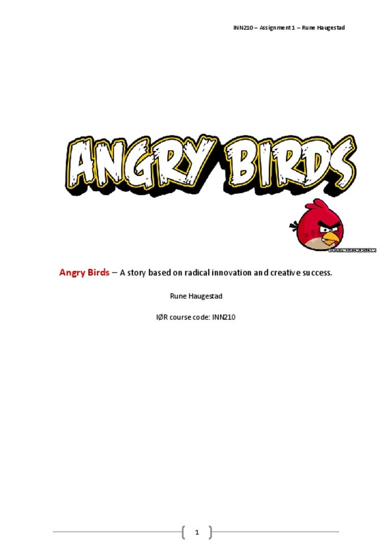 Angry Birds business case analysis UMB School Of Business