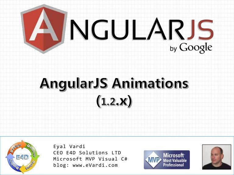 Angularjs Animations