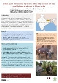Milking and milk consumption habits and practices among smallholder producers in Bihar, India