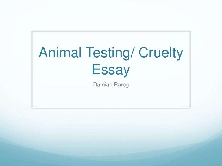 aniaml testing essay