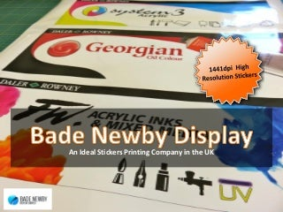 Stickers Printing LinkedIn - Custom vinyl stickers milton keynes