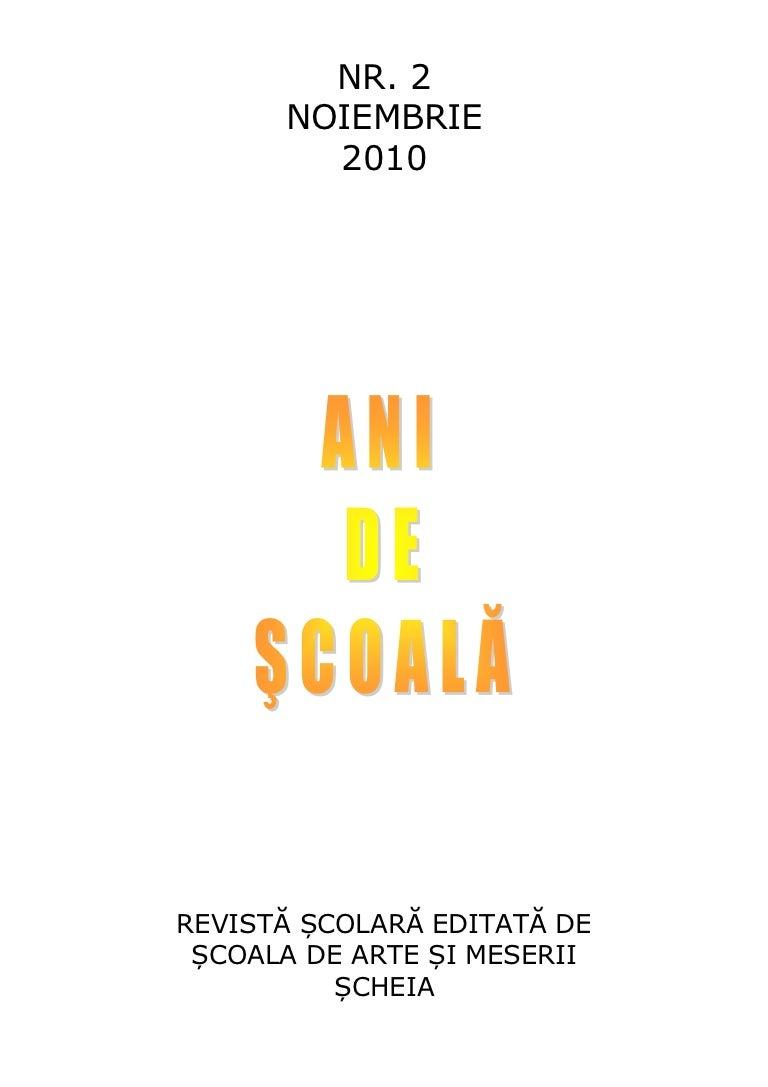 Sam Scheia Ani De Scoala Nr 2
