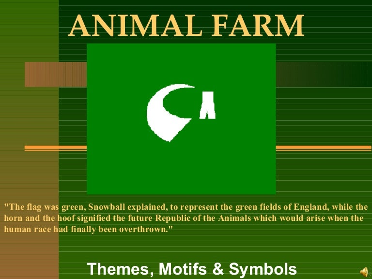 what does animal farm symbolize