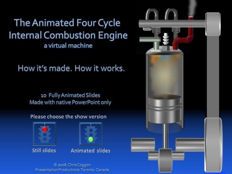 the animated 4 cycle internal bustion engine Four-Stroke Engine Theory