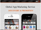 Global App Marketing Service -  DISCOVERY & PROMOTION