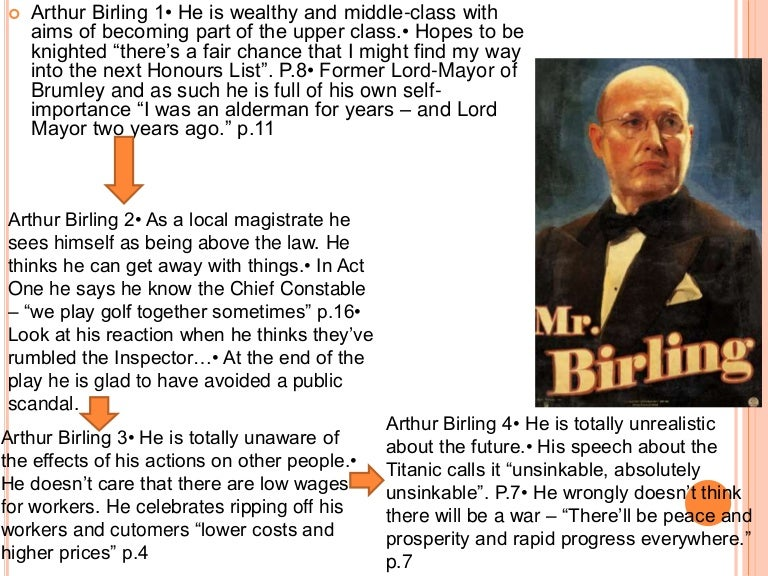 critical essay on inspector calls If the inspector is the protangonist of the play, birling is the antagonist priestly makes him the antithesis of the inspector birling has authority which is based on money and social prestige, whereas the inspector has authority which derives from morality and justice.