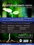 Anishinaabewin2012 poster and reg form