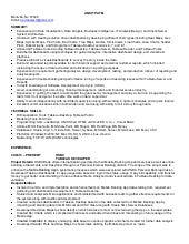 tableau developer resume adam danisovszky - Tableau Developer Resume