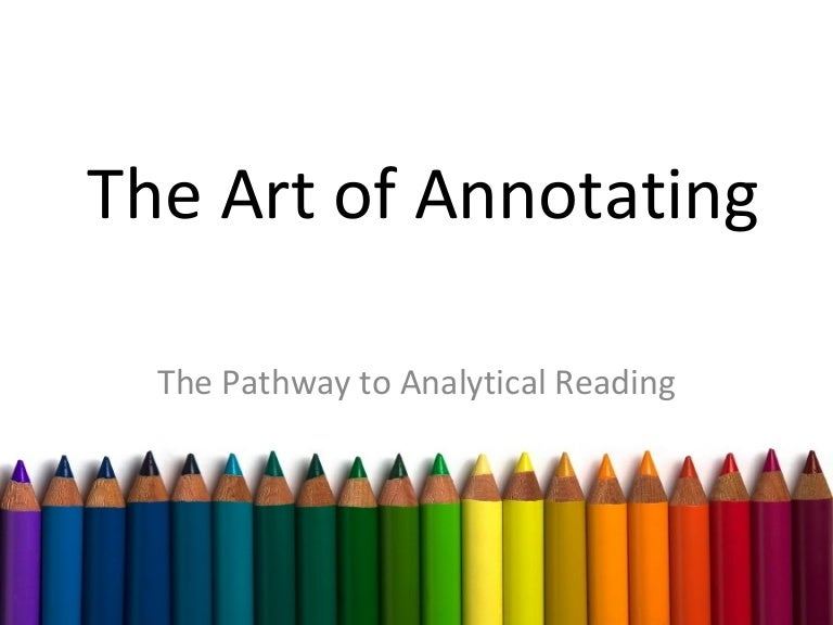 how to annotate a quote