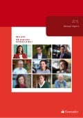 Annual report 2015 Banco Santander