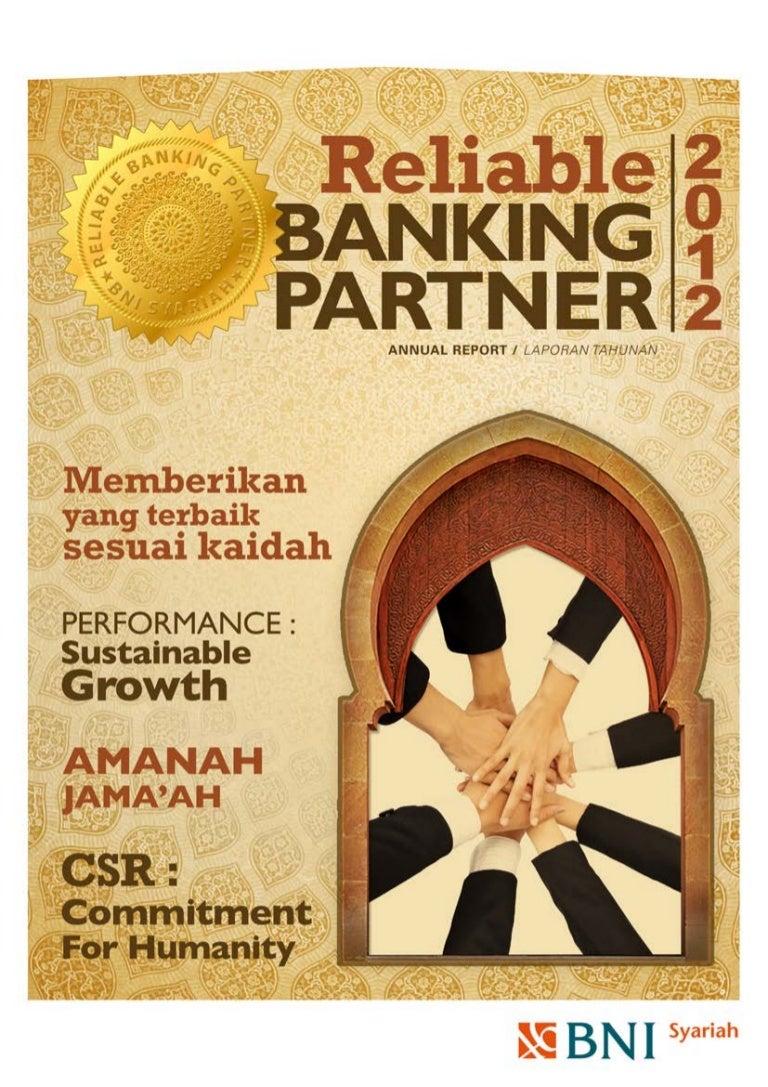 Annual Report Bni Syariah 2012
