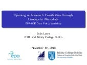 Annual environment and health conference 2018 sean lyons esri   sl data-workshop_7-11-18