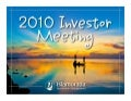 Islamorada Investment Management 2010 Annual Meeting