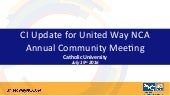 Community Commitment Update | July 19, 2016