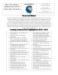 NPES Learning Commons Annual Report 2014
