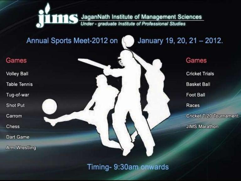 Annual sports meet 2012