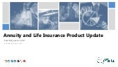 Annuity and Life Insurance Product Update - Q4 2017