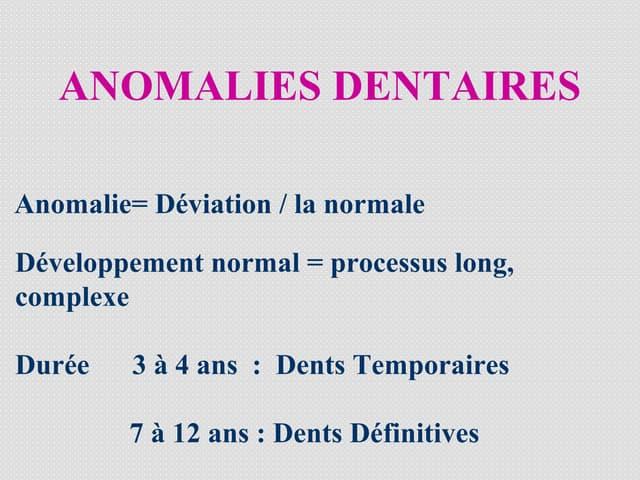 Anomalies dentaires[1]