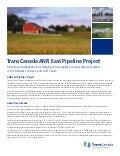 TransCanada ANR East Project Brochure