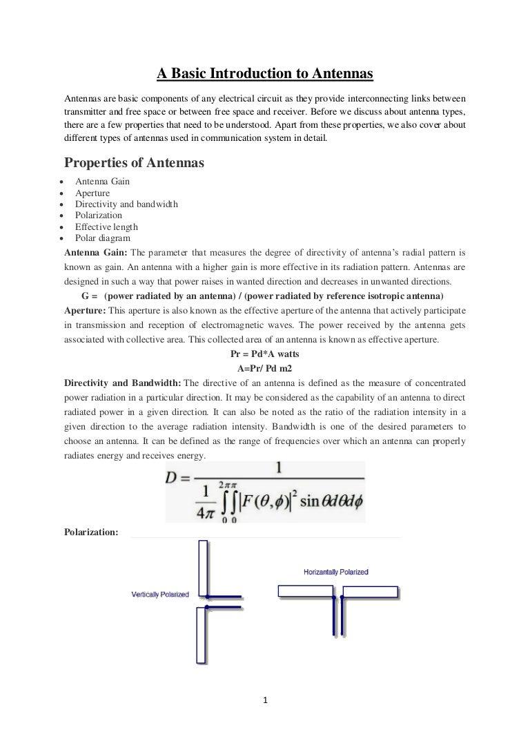 Antenna Gap An Wiring Diagram