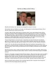 Testimonial - Anthony & Mary Larter