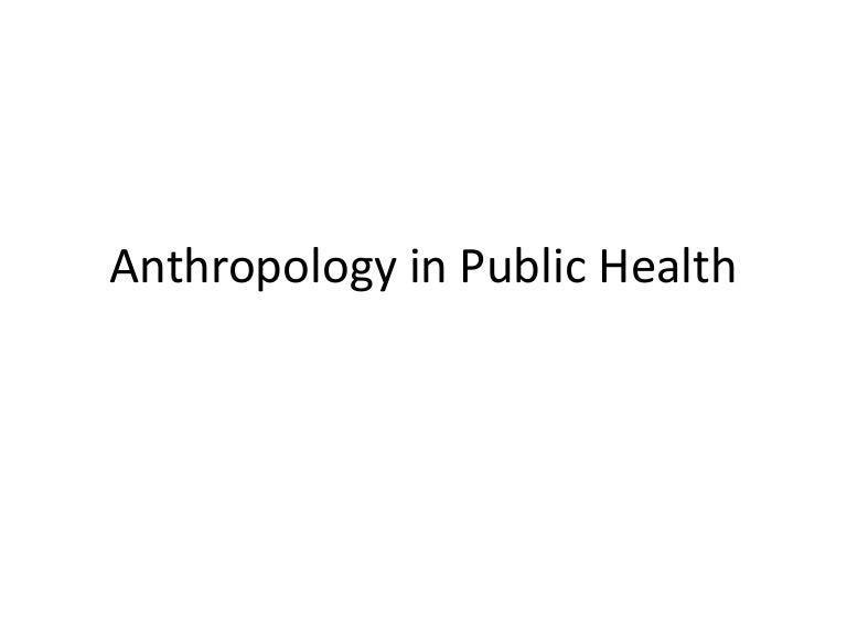 Clinically Applied Anthropology: Anthropologists in Health Science Settings