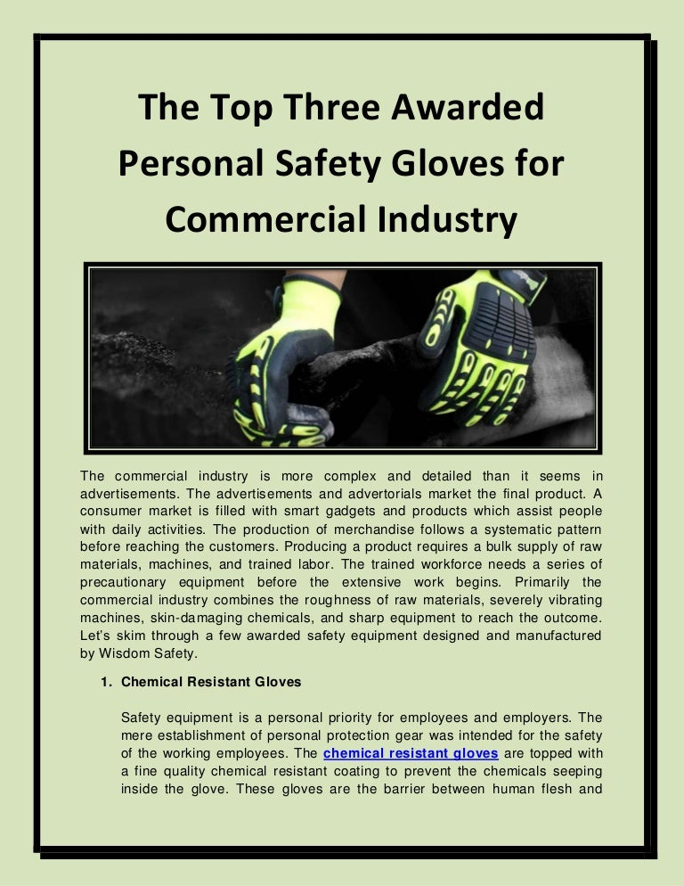 Anti static gloves for practical use